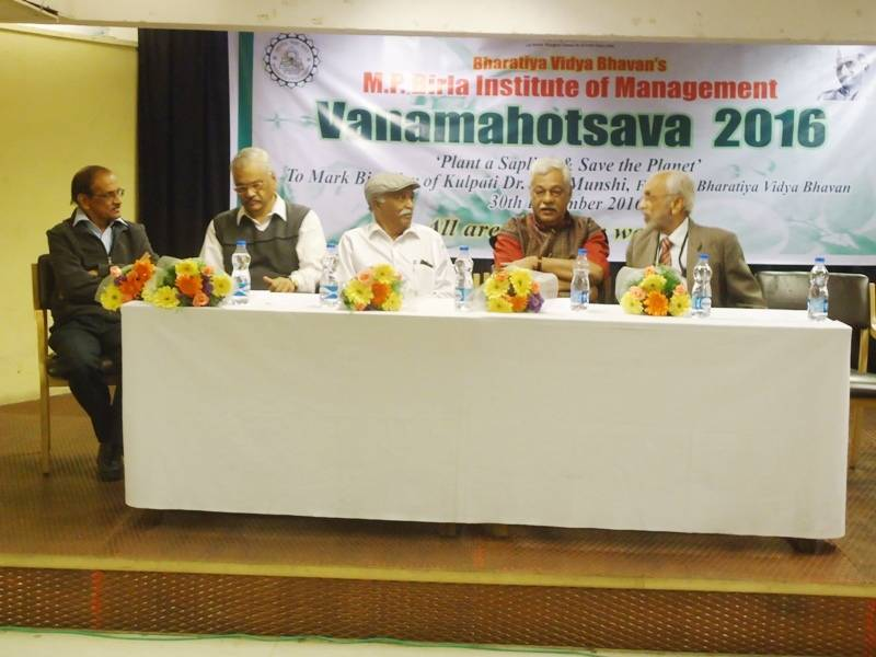 Vanamahotsava 2016 to commemorate Dr. K M Munshijis birthday