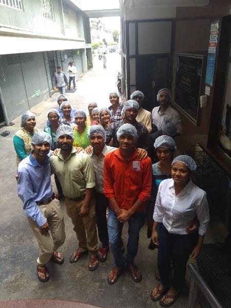 Visit to Akshay Patra of ISKCON